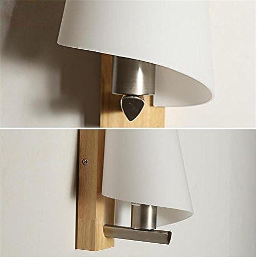 Applique amp;m Caoutchouc Lampe Salon Bois H Couloir Murale Mur Led FKuTl1J5c3