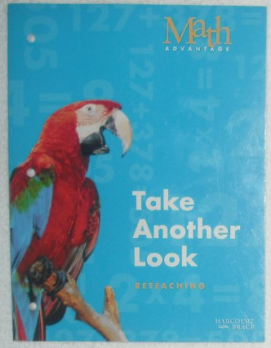 Math Advantage, Grade 3 Reteach Workbook: Harcourt School Publishers Math Advantage (Math Advantage 99 Rev Y015)