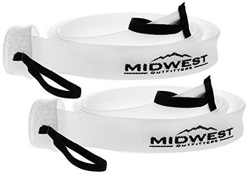 Baitcast Fishing Rod Sleeve Rod Sock Cover 2 Pack By Midwest Outfitters (Casting Reel Cover)