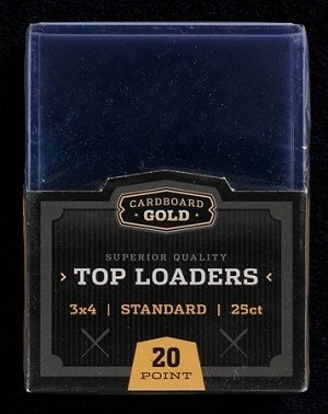 3 x 4 Sports Card / Trading Card Top Loaders - 2 Full Cases 2000ct (2000 Top Loaders)