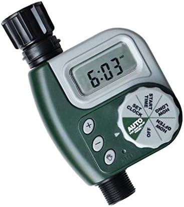 Single Ausgang Schlaucharmatur Timer digital programmierbare Außenwasserdichte Digital Programmierbare Gartenbewässerung Bewässerung Automatische Timer