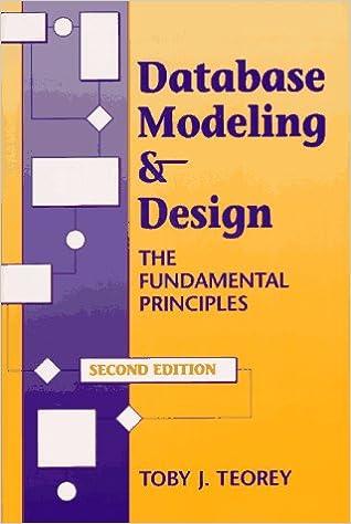 Database Modeling & Design: The Fundamental Principles