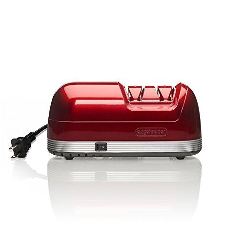 EdgeKeeper Electric Knife Sharpener, Red, 8.25-Inch - 5217645