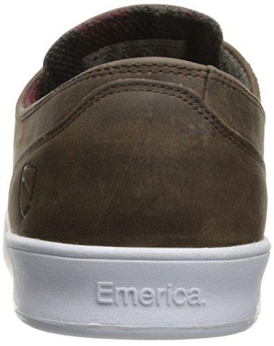 Emerica The Romero Laced X Eswic, Color: Brown/White, Size: 39 EU / 7 US / 6 UK