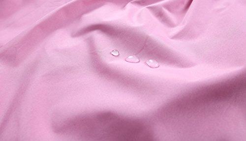 LZH Toddler Girls Raincoat Waterproof Outwear Coat Jacket with Hoodies by LZH (Image #6)