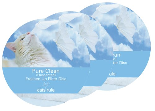 Cats Rule Freshen Up Filter Disc Pure Clean, 3 Pack, My Pet Supplies