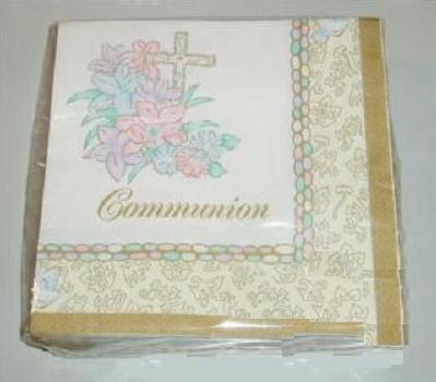(Communion Luncheon Party Napkins 36 Count Pkg Paper Art by Paper Art )