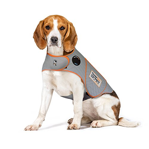 Thundershirt Sport Dog Anxiety Jacket, Platinum, Medium ()