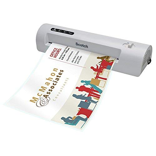 Thermal Laminator, 9'' Wide, 3 to 5 Maximum Document Thickness by Scotch-Brite