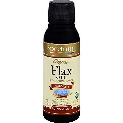 Organic Flax Oil Cinnamon 8 oz. ( Multi-Pack)