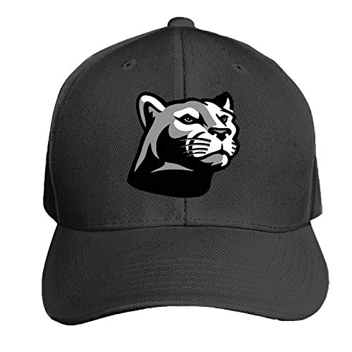 Top Panther Clipart Snapback Cap Flat Bill Hats Adjustable Blank Caps for Men ()