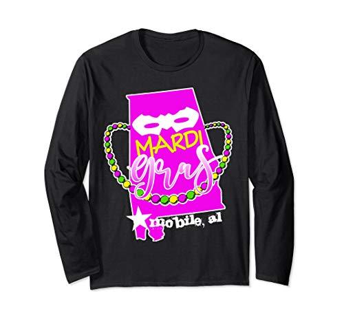 Mardi Gras Mobile Alabama Long Sleeve Shirt ()
