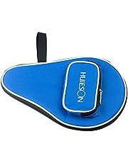 VORCOOL Funda para Raqueta de Ping Pong y Pelota de Ping Pong Profesional (Azul)