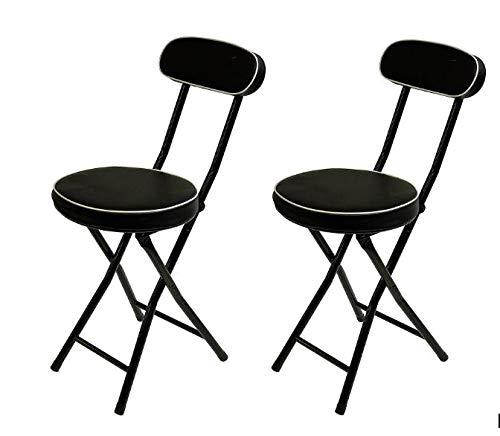 Wee's Beyond 1209 Cushioned Padded Folding Stool (2) by Wee's Beyond