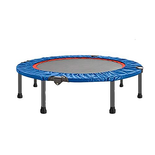 Trampoline Xiaomei Fitness Mini Indoor Jumper Aerobic Fitness Home Gym Exercise Indoor Fitness Used in Home, Outdoor (Color : Blue)