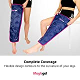 Leg Ice Pack - Professional Cold Therapy - Reduces