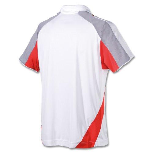 Lotto Sport - Camiseta de pádel para Hombre, tamaño S, Color Blanco/Lobster: Amazon.es: Ropa y accesorios