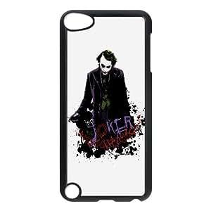 Heath Ledger Joker U6T02W1UO funda iPod Touch 5 caso funda QN70B8 negro