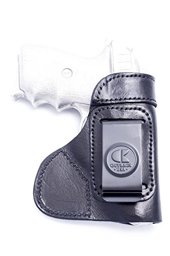 OutBags USA LS3P938 (Black-Right) Full Grain Heavy Leather IWB Conceal Carry Gun Holster for Sig Sauer P238 .380 & P938 9mm. Handcrafted in USA.