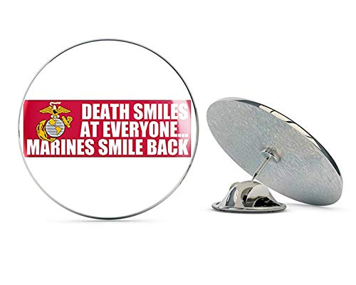 NYC Jewelers Death Smiles at Everyone. Marines Smile Back (USMC Corps) Metal 0.75