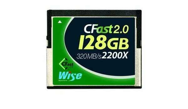 CFAST CFA-0128 2.0/128GB Wise R/W 505MB/210MB for Canon xc10 ...