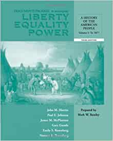 Liberty, Equality, Power: A History of the American People / Edition 7