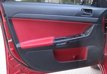 Mitsubishi Lancer Evo X 2008-15 insercion de puertas delanteras de RedlineGoods