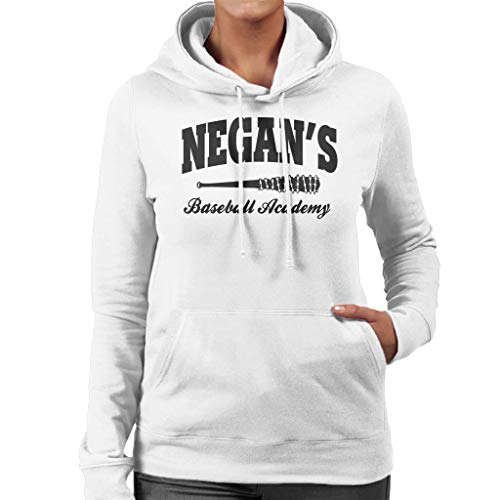 Women's Women's Academy Baseball Sweatshirt Negans Dead Hooded Hooded City Cloud Walking White 7 wTxIqf