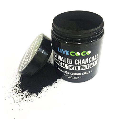 photo Wallpaper of LiveCoco-LiveCoco LIMITED TIME Activated Charcoal 2.8oz=Around 300 Uses (Made From-
