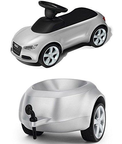 Audi Junior quattro Anhänger Rot - Audi Bobby-Car Anhänger