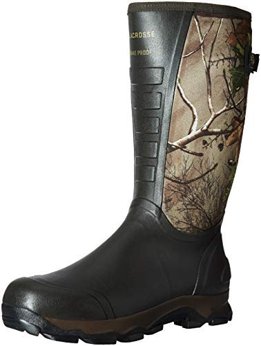 "LaCrosse Men's 4xAlpha 16"" Waterproof Hunting Snake Boot"