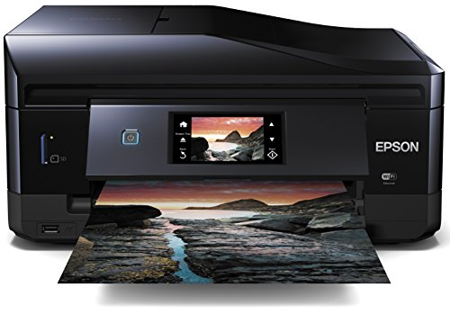 Epson Expression Photo XP-860 Wi-Fi Photo Printer, Scan and Copy with Fax...