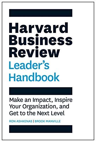 The Harvard Business Review Leader's Handbook (HBR Handbooks) por Brook Manville