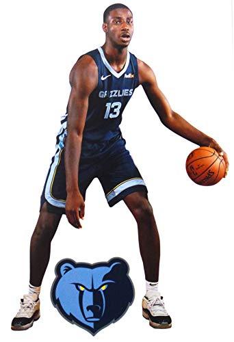 FATHEAD Jaren Jackson Jr. Mini Graphic + Memphis Grizzlies Logo Official NBA Vinyl Wall Graphics - This Graphic is 7