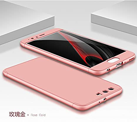 PAIPAIGUAN Funda Huawei P10 Plus Carcasa Huawei P10 Plus[Protector de Pantalla de Vidrio Templado] 3 en 1 Desmontable Anti-Arañazos Huawei P10 Plus ...