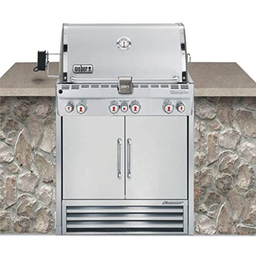 (Weber Summit S-460 Built-In Liquid Propane in Stainless Steel Grill)
