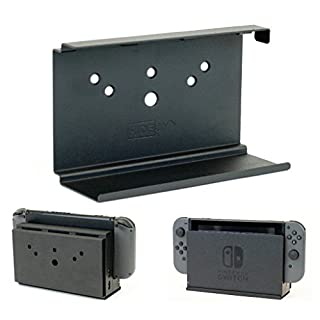 HIDEit Switch - Nintendo Switch Wall Mount - Mount for Nintendo Switch (Black) - HIDEit Behind the TV or DISPLAYit - Made in the USA and Trusted Worldwide Since 2009 - Search afterHIDEit on Social