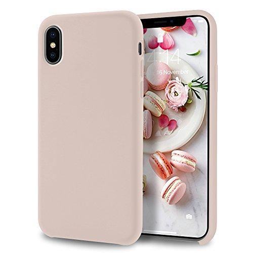 - Allinside iPhone X Case [Lollipop Series] Liquid Silicone Gel Rubber for iPhone X Skin Tone
