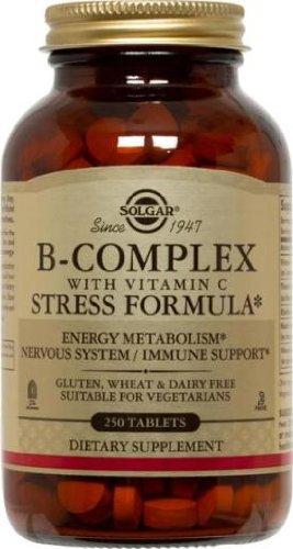 Solgar - B-Complex avec le stress C - 250 comprimés