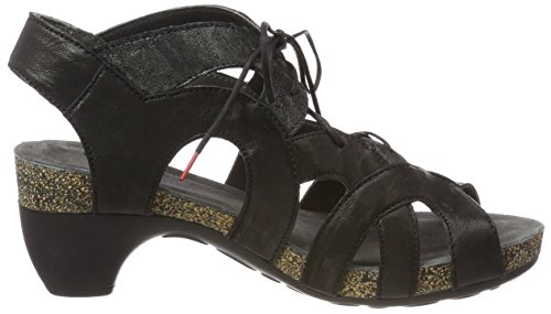 Think! Women's Traudi_282576 Closed Toe Sandals, Blau (Lagune/Kombi 79), 5 UK Black (Sz/Kombi 09 Sz/Kombi 09)