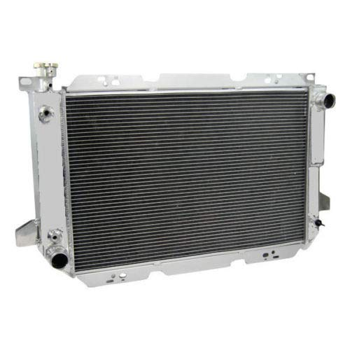 CoolingCare 3 Row Full Aluminum Radiator For 1985-1996 Ford F-Series 150 250 350& Bronco, V8