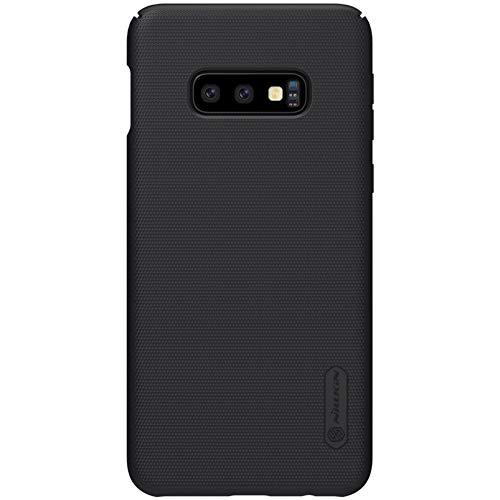 Galaxy S10e Case, Nillkin Frosted Shield Hard Slim Case Back Cover [Support Wirelesss Charge] for Samsung Galaxy S10e - Black