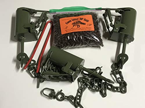 Fox Pro Snares LLC 3 FPS DP Dog Proof Raccoon Traps, 1 DP Se
