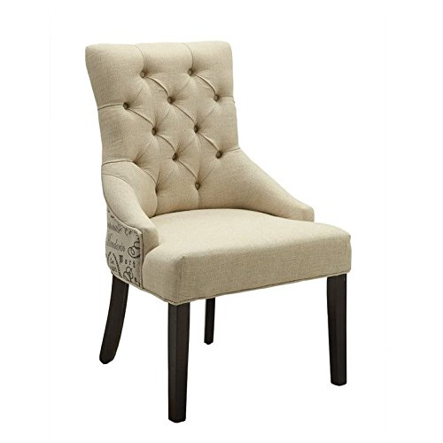 Coaster Home Furnishings Accent Chair,  Beige by Coaster Home Furnishings