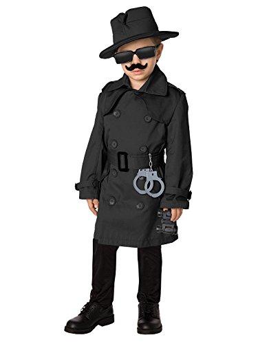 Time AD Inc. 211587 Spy Child Costume Kit - Black - Fits Sizes 4 to 8