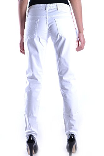 Blanc Femme MCBI123002O Jeans Fiorucci Coton 7A06R