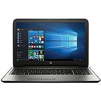 HP 15.6-Inch High Performance HD Laptop (Intel Quad Core Pentium N3710 Processor up to 2.5 GHz, 8GB RAM, 500GB HDD, SuperMulti DVD, Wifi, HDMI, Webcam, Windows 10-silver)