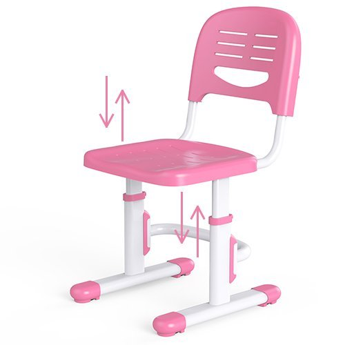 Wymo Kidz Ergonomic Kids Study Desk & Chair Pink