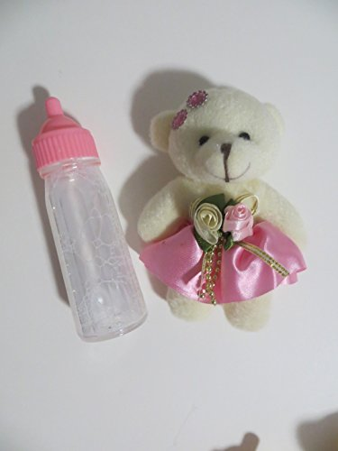 Baby Doll Bottle Toysmith Disappearing Milk 5in + Soft Cute