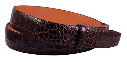 (Trafalgar Alligator Embossed Leather 1 3/16